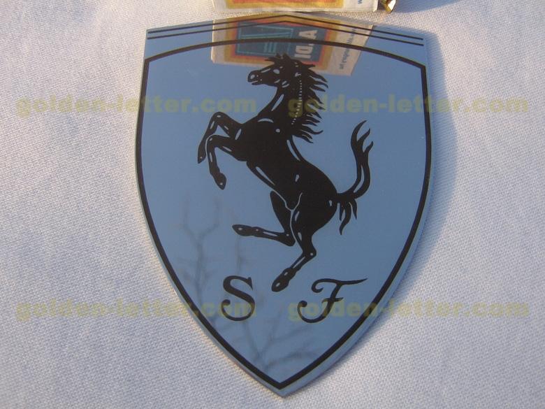 Chrome Steel Ferrari Logo 49 99 Images