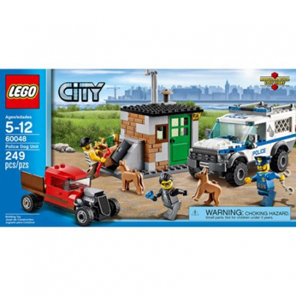 LEGO City Police Dog Unit Building Set $18 8 #60048