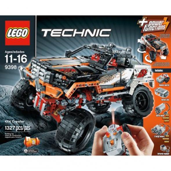 Lego Technic Rock Crawler Building Set 26224 9398