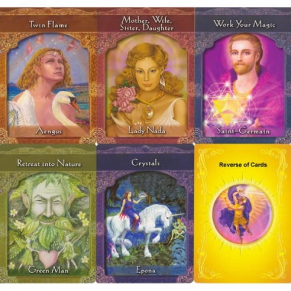Ascended Masters Oracle Cards - spiritual oracle c $14 46