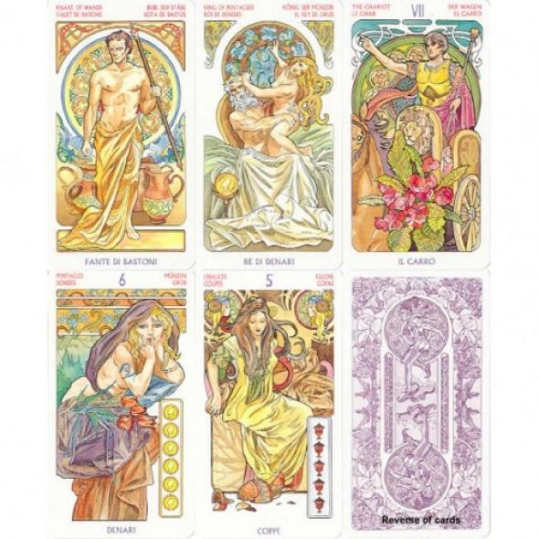 Lo Scarabeo Art Nouveau Tarot Cards Tarot Cards 15 5